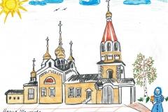 храм. Шолохова Маша 2 кл СОШ23