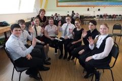 Команда второй школы Надежда России