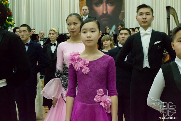 В Якутске состоялся III Рождественский молодёжный бал